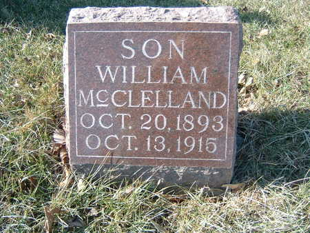 MCCLELLAND, WILLIAM - Polk County, Iowa | WILLIAM MCCLELLAND