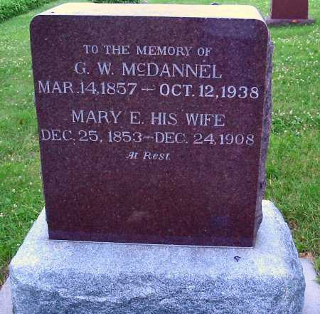 MCDANNEL, MARY E. - Polk County, Iowa | MARY E. MCDANNEL