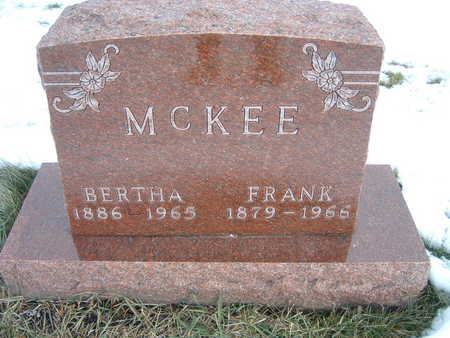 MCKEE, BERTHA - Polk County, Iowa | BERTHA MCKEE