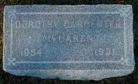 CARPENTER MCLAREN, DOROTHY - Polk County, Iowa | DOROTHY CARPENTER MCLAREN