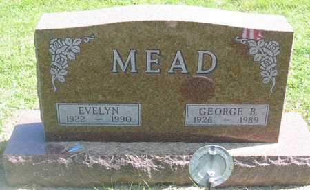 MEAD, GEORGE B. - Polk County, Iowa | GEORGE B. MEAD