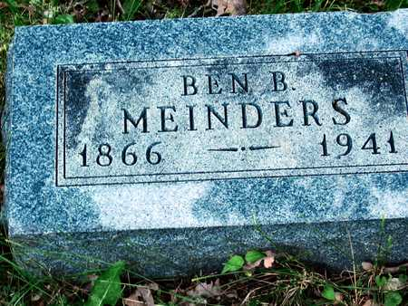 MEINDERS, BEN E. - Polk County, Iowa | BEN E. MEINDERS