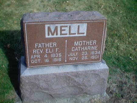 MELL, ELI F., REV. - Polk County, Iowa | ELI F., REV. MELL