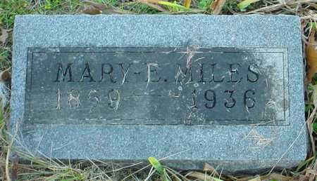 MILES, MARY E. - Polk County, Iowa | MARY E. MILES