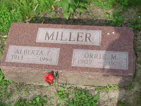 MILLER, ORRIE M. - Polk County, Iowa | ORRIE M. MILLER