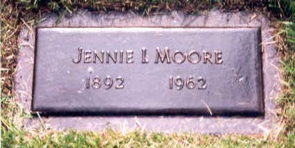 MOORE, JENNIE - Polk County, Iowa | JENNIE MOORE
