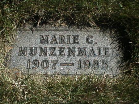 MUNZENMAIER, MARIE - Polk County, Iowa | MARIE MUNZENMAIER