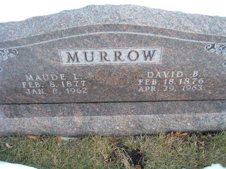 MURROW, MAUDE L. - Polk County, Iowa | MAUDE L. MURROW