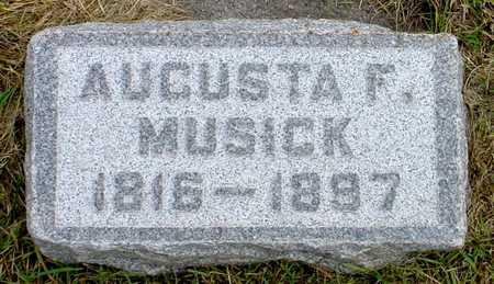 MUSICK, AUGUSTA F. - Polk County, Iowa | AUGUSTA F. MUSICK