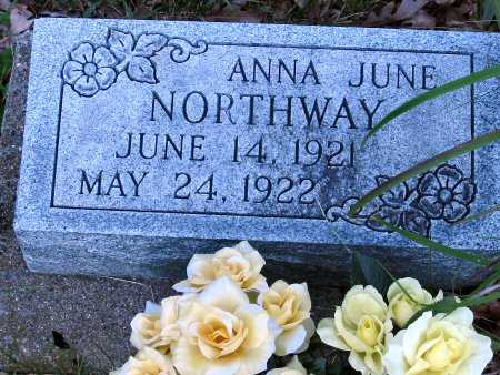 N ORTHWAY, ANNA JUNE - Polk County, Iowa | ANNA JUNE N ORTHWAY