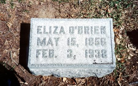 O'BRIEN, ELIZA - Polk County, Iowa | ELIZA O'BRIEN