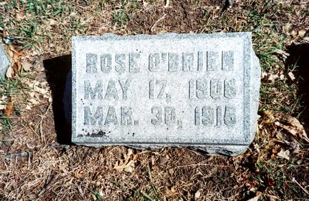 O'BRIEN, ROSE - Polk County, Iowa | ROSE O'BRIEN