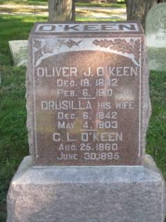 O'KEEN, DRUSILLA - Polk County, Iowa | DRUSILLA O'KEEN