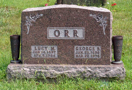 ORR, GEORGE B. - Polk County, Iowa | GEORGE B. ORR