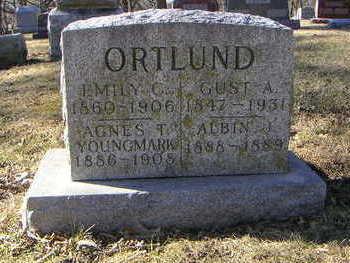 ORTLUND, GUST. ANDREW - Polk County, Iowa | GUST. ANDREW ORTLUND