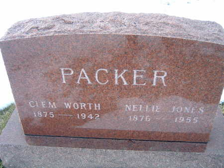 JONES PACKER, NELLIE - Polk County, Iowa | NELLIE JONES PACKER