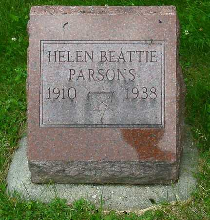 BEATTIE PARSONS, HELEN - Polk County, Iowa | HELEN BEATTIE PARSONS