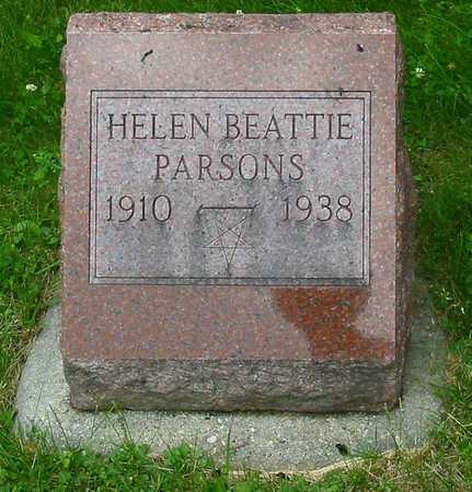 PARSONS, HELEN - Polk County, Iowa | HELEN PARSONS