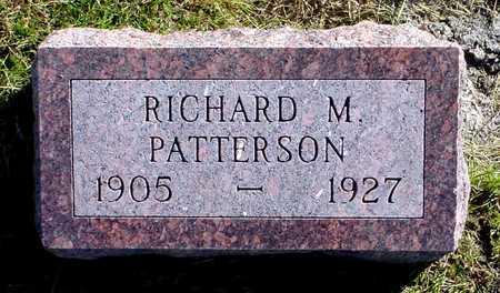 PATTERSON, RICHARD M. - Polk County, Iowa | RICHARD M. PATTERSON