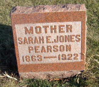 JONES PEARSON, SARAH E. - Polk County, Iowa | SARAH E. JONES PEARSON