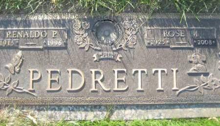 PEDRETTI, RENALDO P - Polk County, Iowa | RENALDO P PEDRETTI