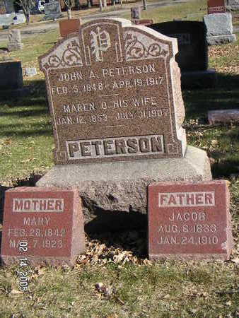 PETERSON, JOHN A. - Polk County, Iowa | JOHN A. PETERSON