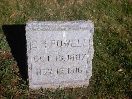 POWELL, EARNEST R. - Polk County, Iowa | EARNEST R. POWELL