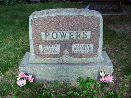 POWERS, ALICE - Polk County, Iowa | ALICE POWERS