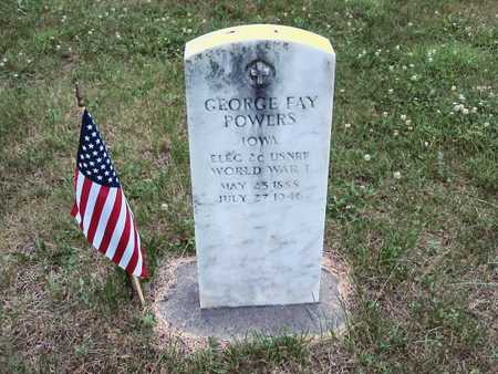 POWERS, GEORGE FAY - Polk County, Iowa | GEORGE FAY POWERS