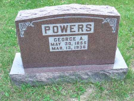 POWERS, GEORGE A. - Polk County, Iowa | GEORGE A. POWERS