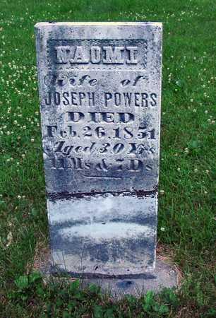 POWERS, NAOMI - Polk County, Iowa | NAOMI POWERS