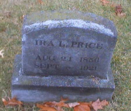 PRICE, IRA L. - Polk County, Iowa | IRA L. PRICE