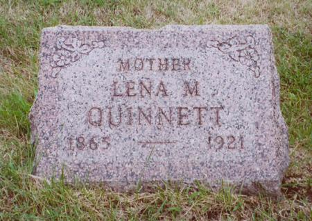 MINNICK QUINNETT, LENA - Polk County, Iowa | LENA MINNICK QUINNETT