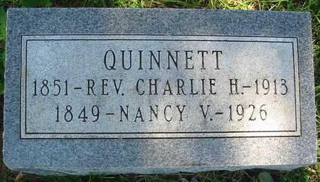 FOX QUINNETT, NANCY V. 1849-1926 - Polk County, Iowa | NANCY V. 1849-1926 FOX QUINNETT