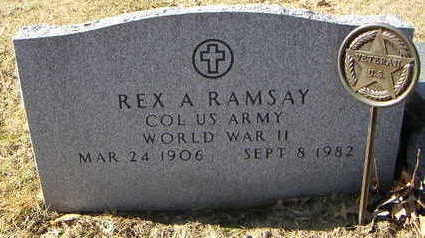RAMSEY, REX A. - Polk County, Iowa | REX A. RAMSEY