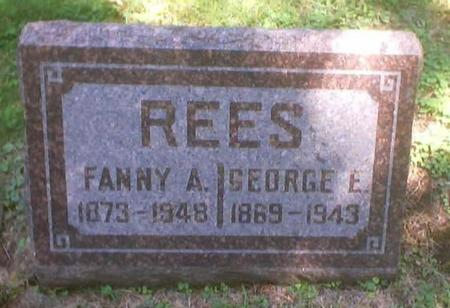 REES, GEORGE E. - Polk County, Iowa | GEORGE E. REES