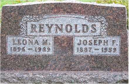 WISHMAN REYNOLDS, LEONA MAE - Polk County, Iowa | LEONA MAE WISHMAN REYNOLDS