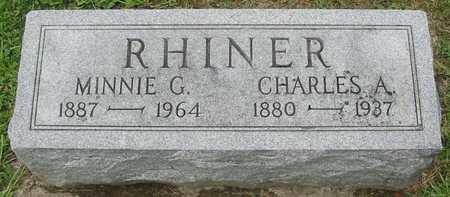 RHINER, CHARLES A. - Polk County, Iowa | CHARLES A. RHINER