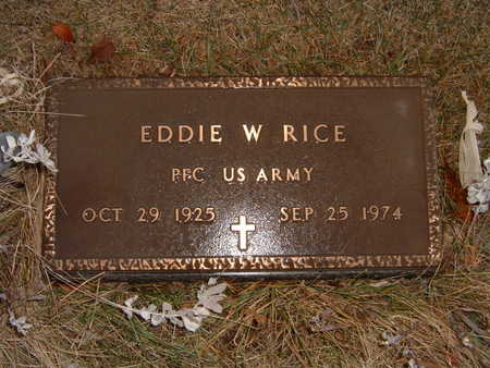RICE, EDDIE - Polk County, Iowa | EDDIE RICE