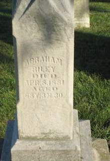 RILEY, ABRAHAM - Polk County, Iowa | ABRAHAM RILEY