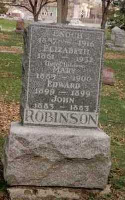 ROBINSON, MARY - Polk County, Iowa | MARY ROBINSON