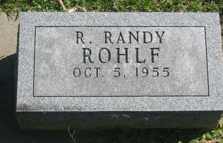 ROHLF, R. RANDY - Polk County, Iowa | R. RANDY ROHLF