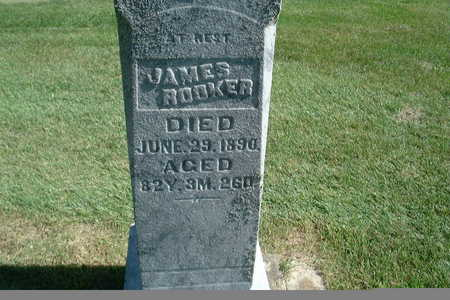 ROOKER, JAMES - Polk County, Iowa | JAMES ROOKER