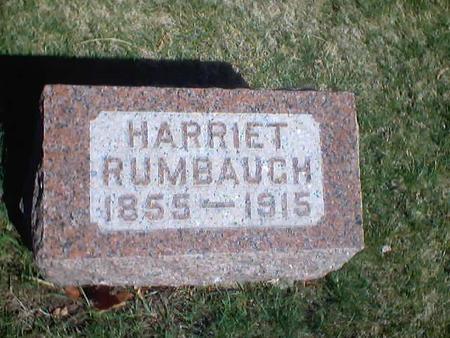 RUMBAUGH, HARRIET - Polk County, Iowa | HARRIET RUMBAUGH