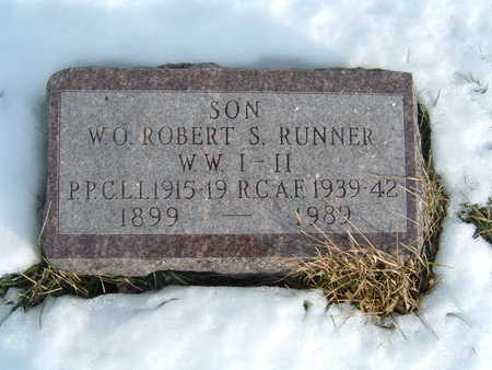 RUNNER, ROBERT S. - Polk County, Iowa | ROBERT S. RUNNER