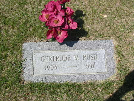 RUSH, GERTRUDE - Polk County, Iowa | GERTRUDE RUSH