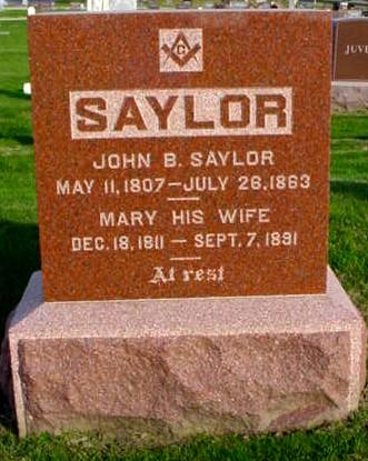 SAYLOR, MARY - Polk County, Iowa | MARY SAYLOR