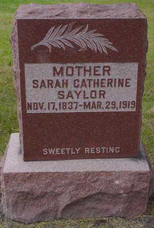 SAYLOR, SARAH CATHERINE - Polk County, Iowa | SARAH CATHERINE SAYLOR