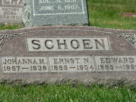 SCHOEN, EDWARD - Polk County, Iowa | EDWARD SCHOEN