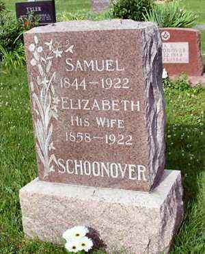 SCHOONOVER, ELIZABETH 1858-1922 - Polk County, Iowa | ELIZABETH 1858-1922 SCHOONOVER